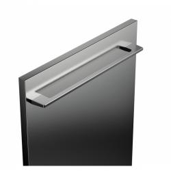 Porte habillage lave-vaisselle Verre Soft Black effet nacré ELEMENTS (82 cm et 86 cm)