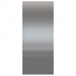 Panneau d'habillage acier inox
